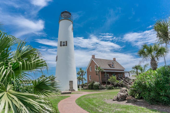 Lighthouse in St. George Island